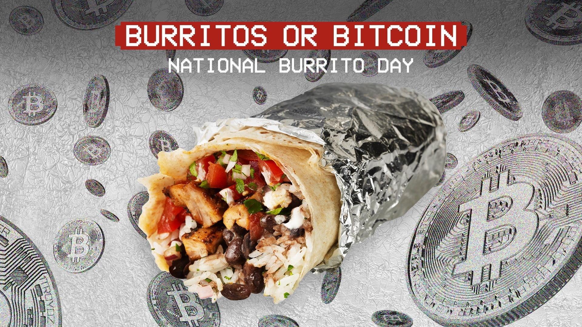 Chipotle oferă Bitcoin și Burritos gratis - de Ziua Națională a Burritos