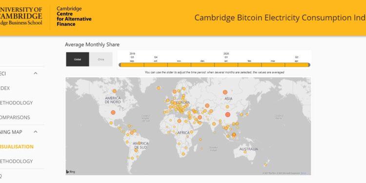 minarea de bitcoin