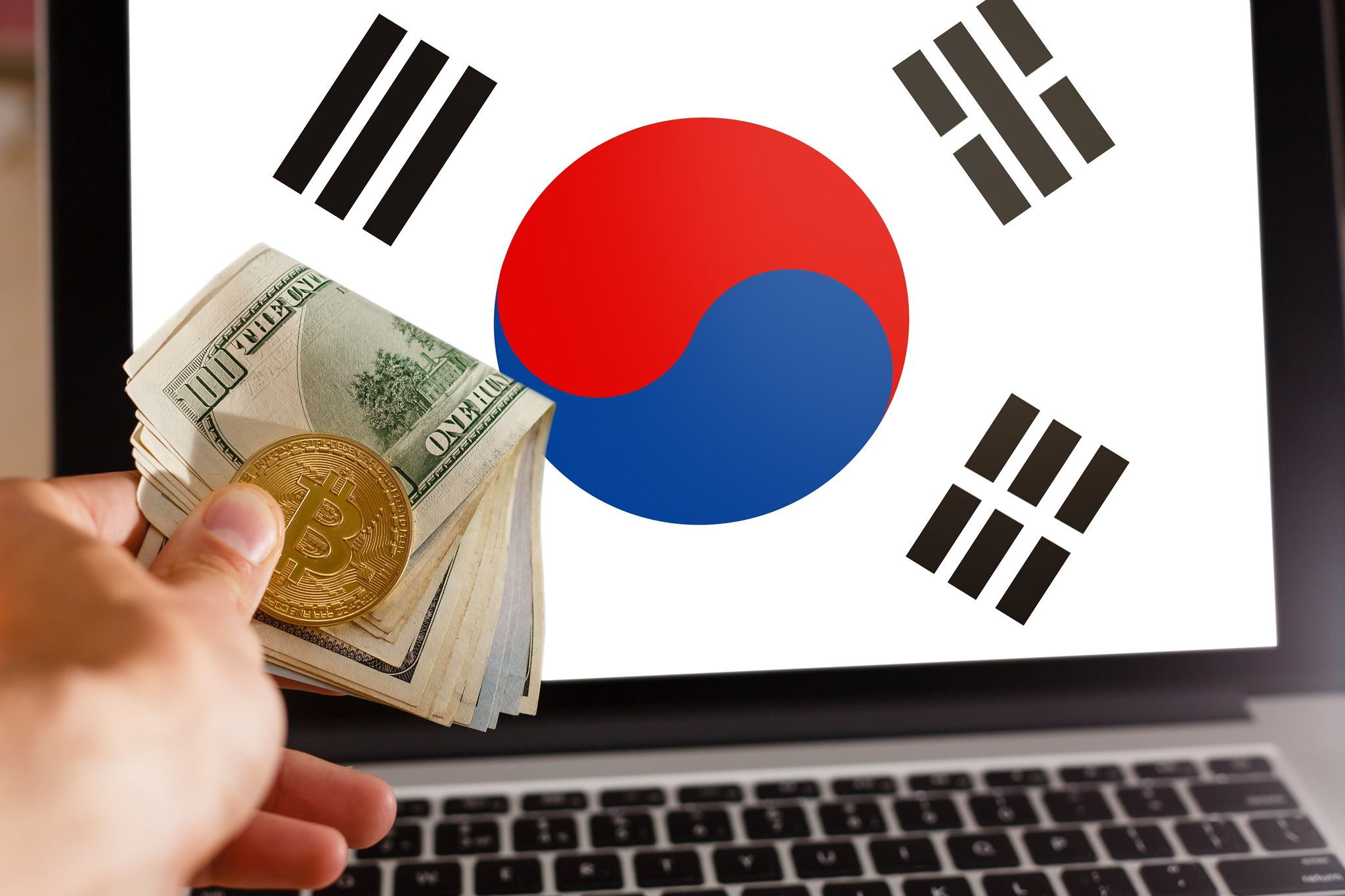 piața bitcoin coordonează coreea de sud