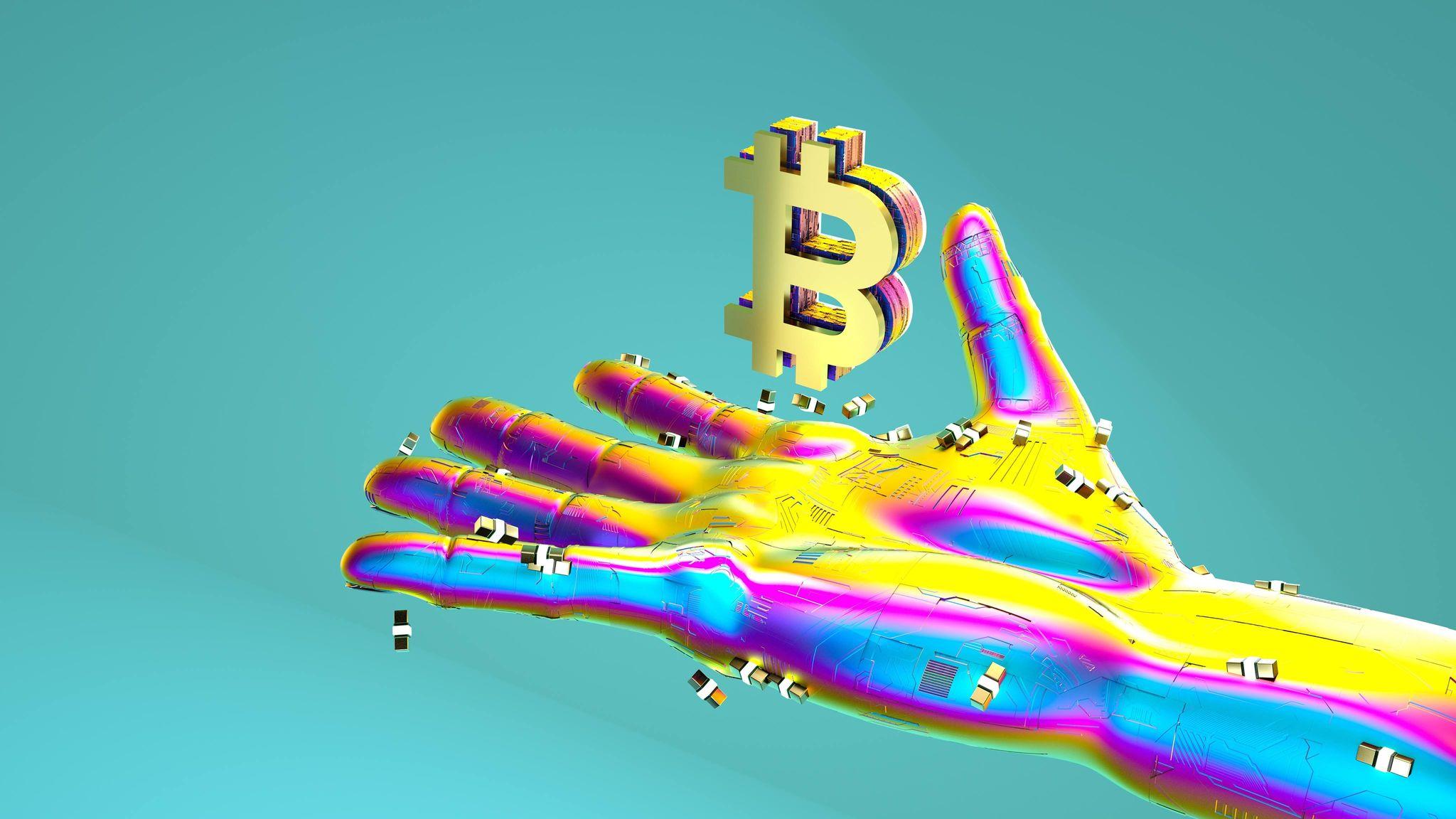 procentajul dominanței bitcoin)