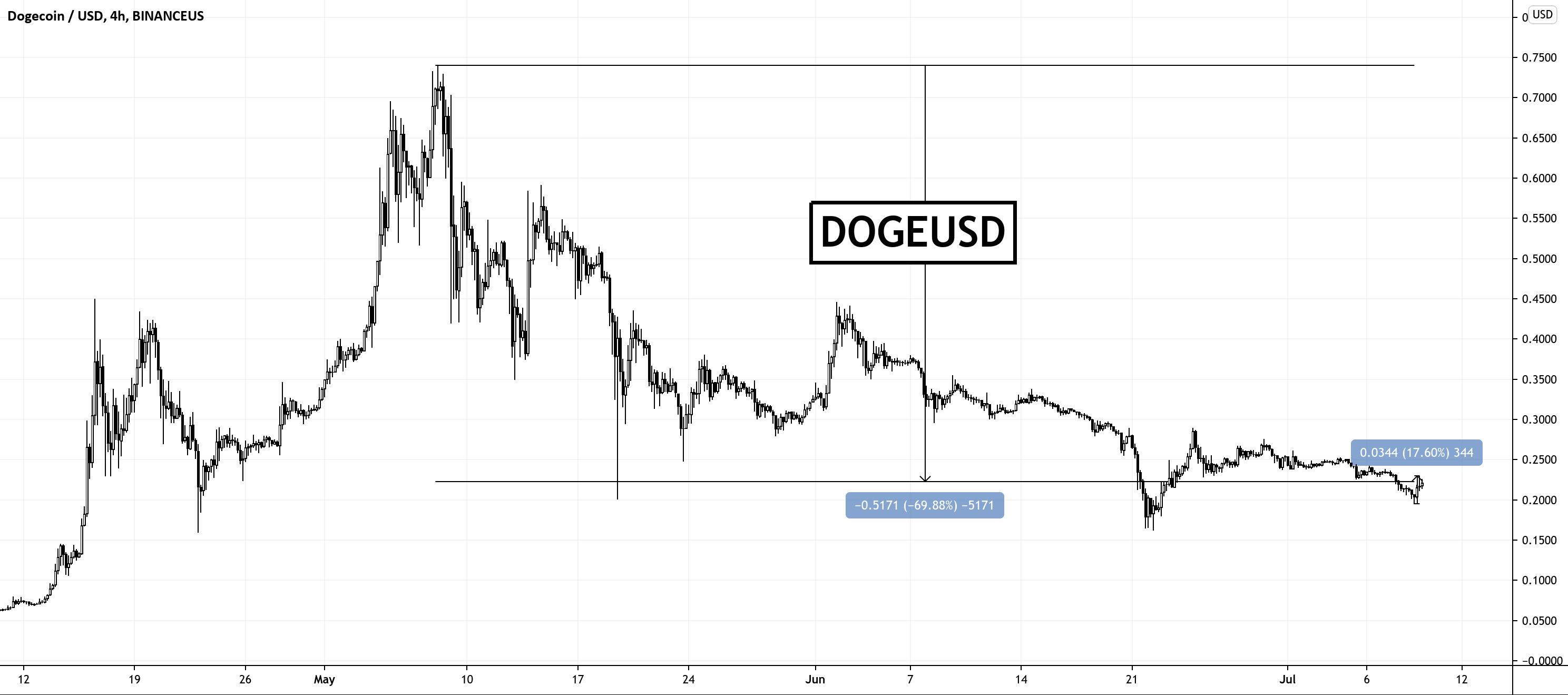 Dogecoin: prețul a crescut 10% după ce Elon Musk a spus că DOGE concurează cu BTC și ETH