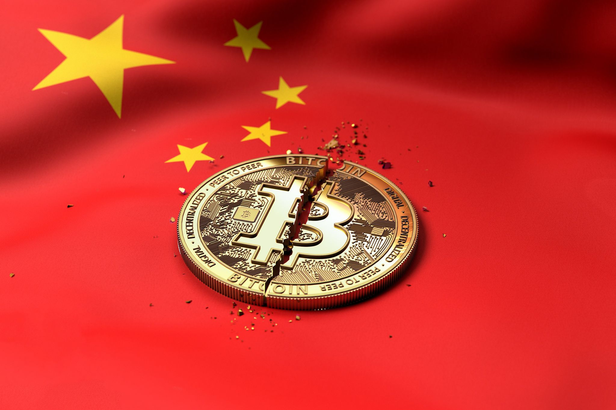 China menține o presiune ridicată asupra industriei criptografice