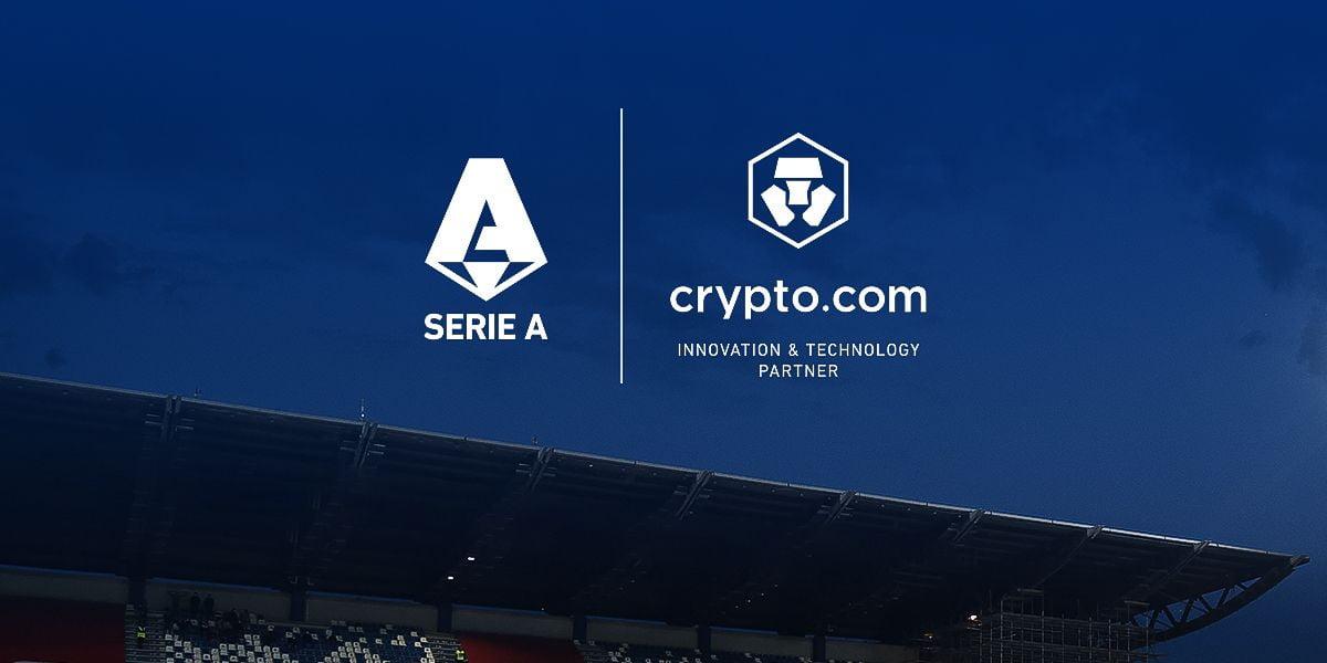 Crypto.com realizează un parteneriat cu Serie A, liga principală de fotbal din Italia