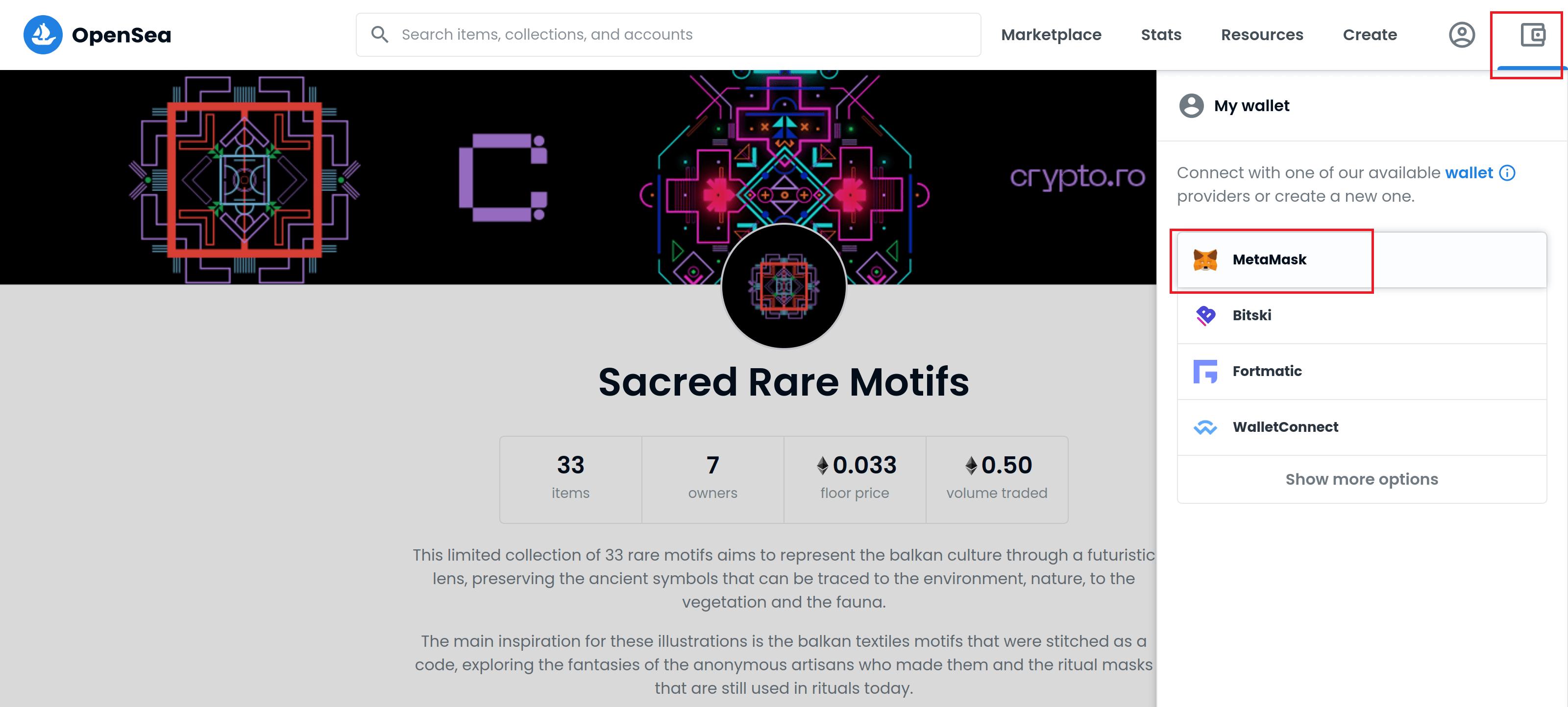 Sacred Rare Motifs: crypto.ro a lansat 33 de NFT-uri rare cu motive tradiționale balcanice